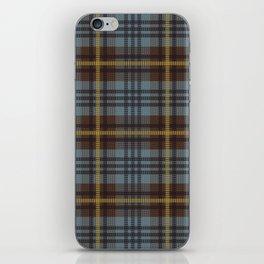 Faded Johnstone Scottish Tartan iPhone Skin