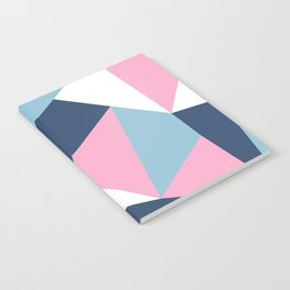 Abstraction Pink Notebook