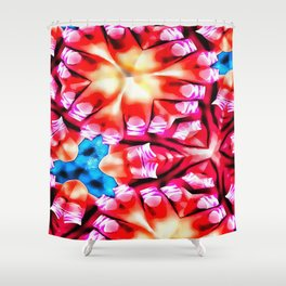 Finger Nails Shower Curtain