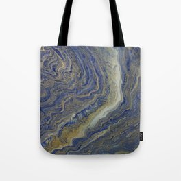 fluid lapis agate Tote Bag