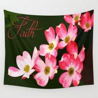 faith Wall Tapestries featuring faith by Shea33
