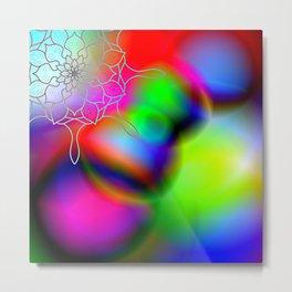 LSD Mandala Metal Print