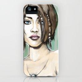 Girl 1b iPhone Case
