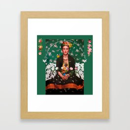 Wings To Fly Frida Framed Art Print