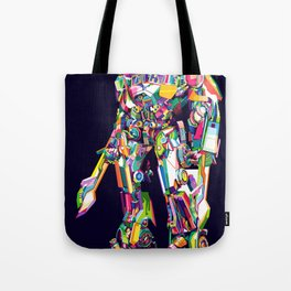 Transformer in pop art Tote Bag