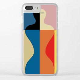 SCHLEMMER TRIBUTE Clear iPhone Case