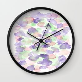 150725 My Happy Bubbles 19 Wall Clock
