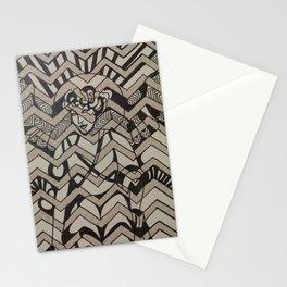 Deco Lady Stationery Cards