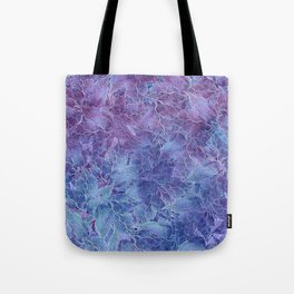 Frozen Leaves 4 Tote Bag