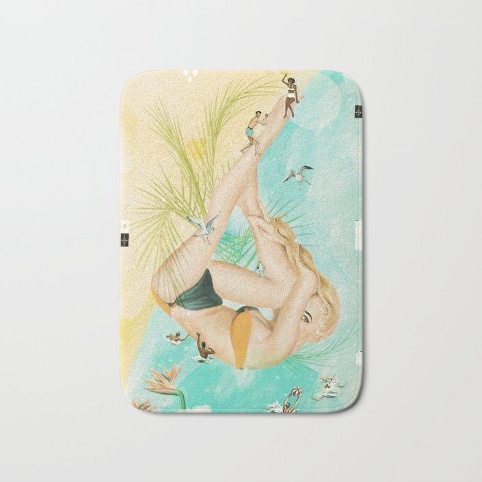 Beach Party Bath Mat