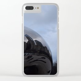 Cloud gate at Chicago Clear iPhone Case