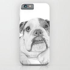 A Bulldog Puppy Slim Case iPhone 6s