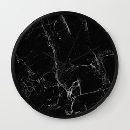 Marble, Print, Minimal, Scandinavian, Abstract, Pattern, Modern art Wall Clock