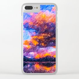 Lake McDonald in Glacier National Park Clear iPhone Case