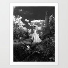 Her Wedding Day Art Print