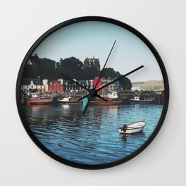 The Port Of Tobermory Wall Clock