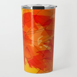 Autumn leaves - sketch Travel Mug