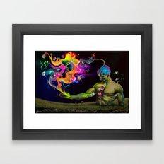 Alchemy Resonance Framed Art Print