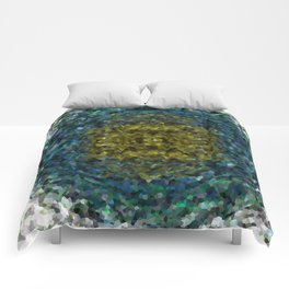 Geode Abstract 01 Comforters