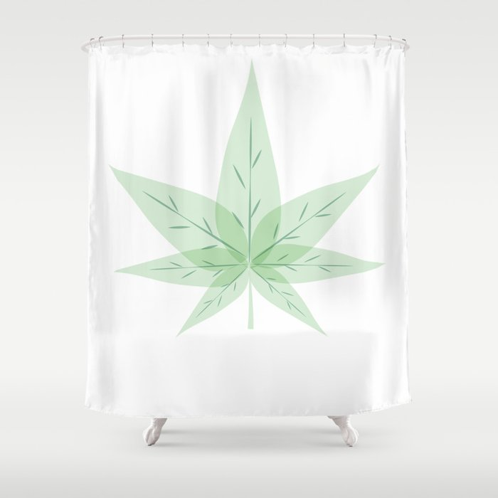 Hemp Shower Curtain By Mtie