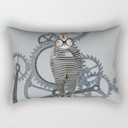 Time Cons Time Rabbit Rectangular Pillow