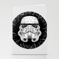 stormtrooper Stationery Cards featuring stormtrooper by Tarik Ali Sert