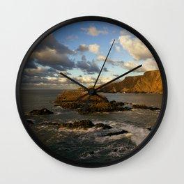 Hartland Coast Wall Clock