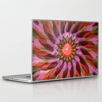 cyberpunk Laptop & iPad Skins featuring Falling Bloom by Obvious Warrior