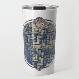 Blue Squircle Travel Mug
