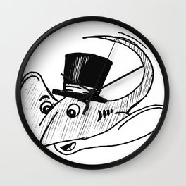 Ray from Monterey Buddies Wall Clock