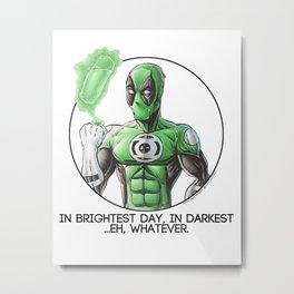 Greenpool Metal Print