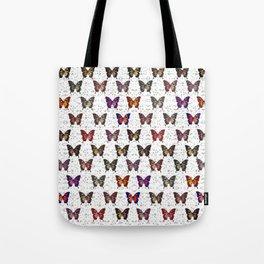 Butterflies Variation 01 Tote Bag