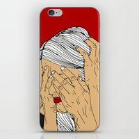 introvert iPhone & iPod Skins featuring Introvert 4 by Heidi Banford