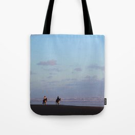 Golden riders Tote Bag