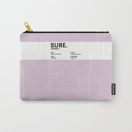 Sure. - Colour Card Carry-All Pouch