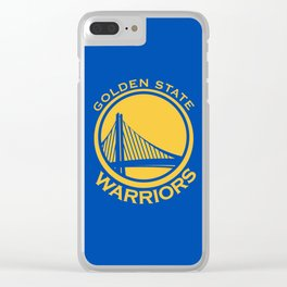 Golden State Warrior Clear iPhone Case