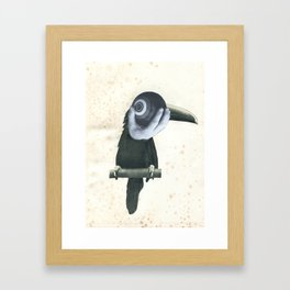 Bowlo Toucan Framed Art Print