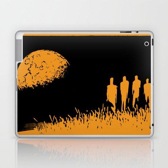 """New Moon"" by Justin Hopkins (Black Version) Laptop & iPad Skin"