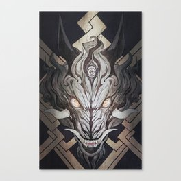 The Wolf 02 Canvas Print