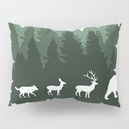 The Walk Through The Forest Pillow Sham