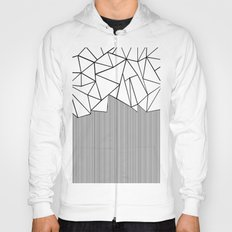 Ab Lines White Hoody