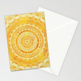 Sun Mandala 4 Stationery Cards