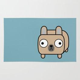 French Bulldog Loaf - Fawn Frenchie Rug