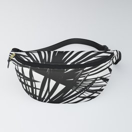 Tropical Fan Palm Leaves #2 #tropical #decor #art #society6 Fanny Pack