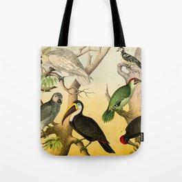 6 Birds Tote Bag