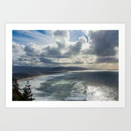 pacific coast beauty Art Print