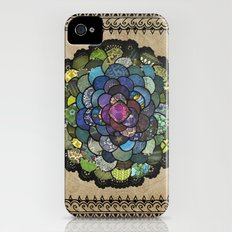 Peacock Bloom iPhone (4, 4s) Slim Case