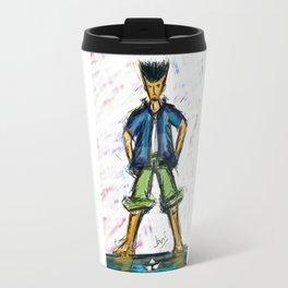 Paper Boater Travel Mug