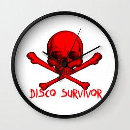 Disco Survivor Wall Clock