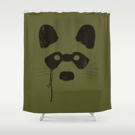 Crying Rocket  Shower Curtain